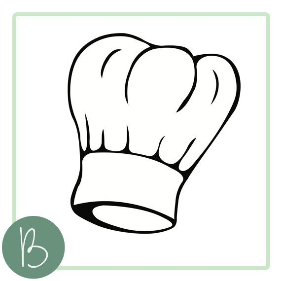 Chef Hat Svg File By Beaoriginalstore On Etsy 2 00 Free Clip