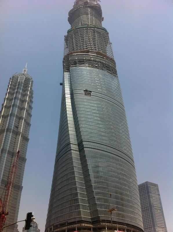 Una Cina sempre più alta!