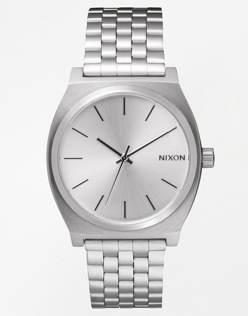 nixon watches time watch teller