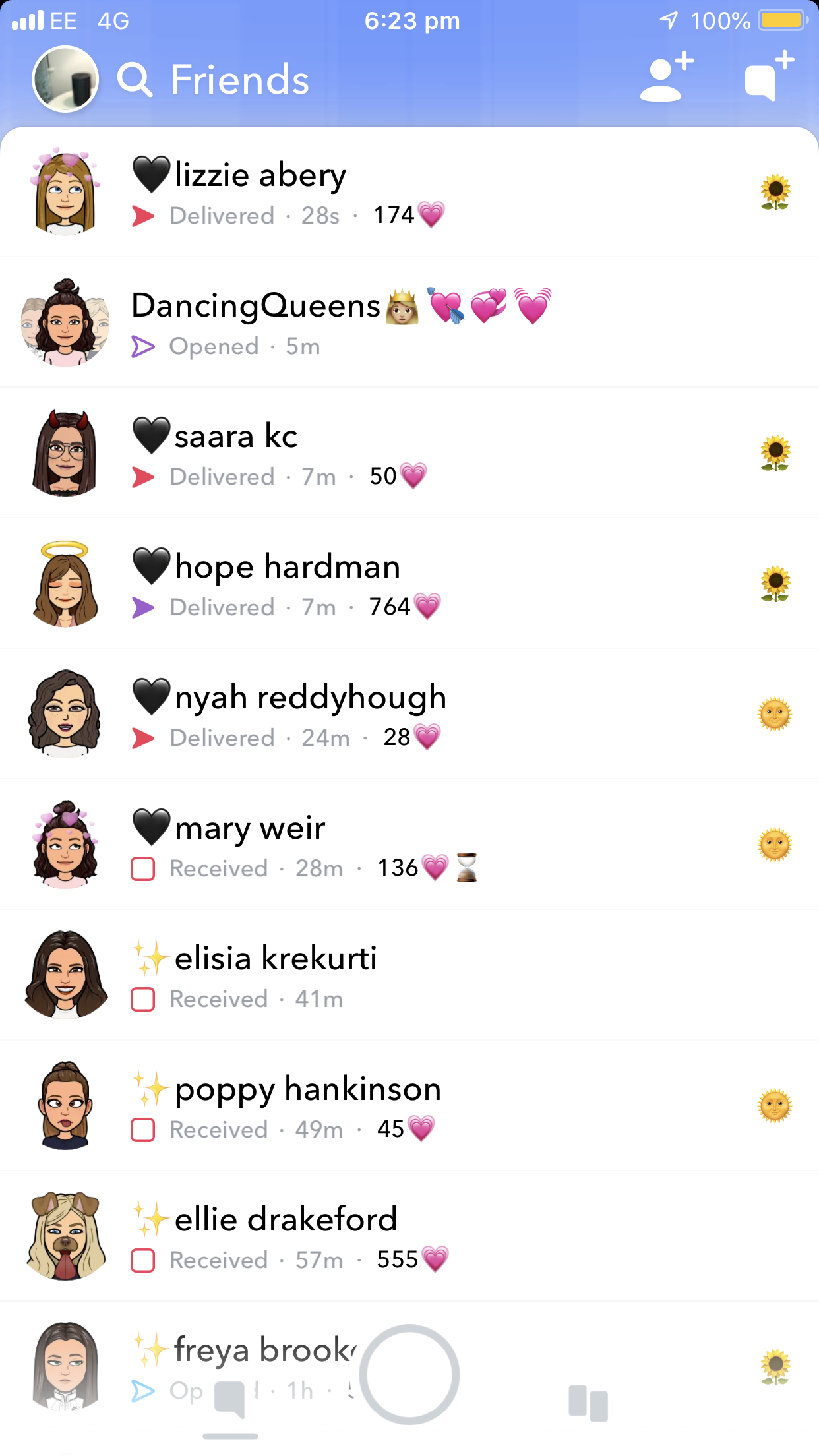 Cute Aesthetic Usernames For Snapchat