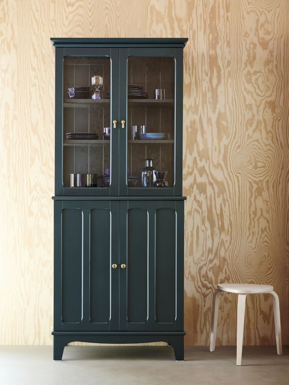 Spacious Storage That S Big On Details Ikea Glass Cabinet Doors Glass Door Ikea Storage cabinets with glass doors