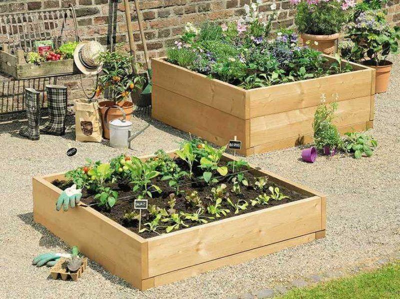 Krauterhochbeet 23 Erfrischende Beispiele Fur Einen Bio Garten Garten Gartengestaltung Ideen