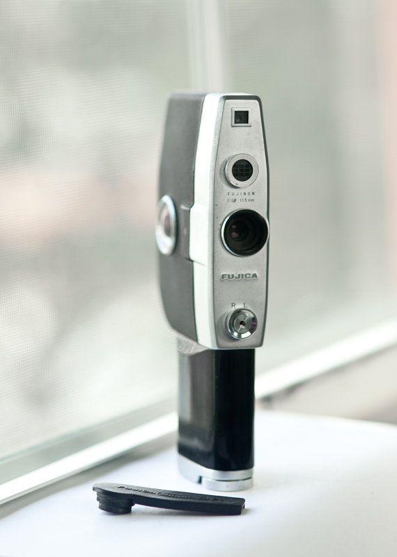 Fujica Single8 P1 Super 8 movie camera  in by VintageCameraClub, $59.00