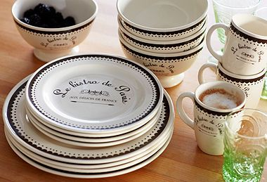 Tableware with French Flair
