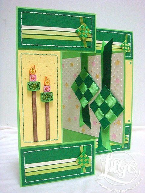 Azlina Abdul Eid Mubarak Hari Raya Cards Greeting Cards Handmade Cards Cards Handmade
