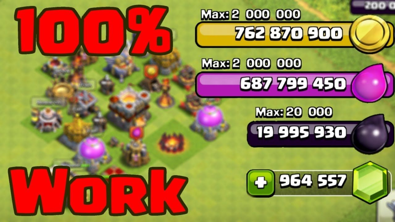Full Clash Of Clans Coc All Private Server  Fhx Magic Lights