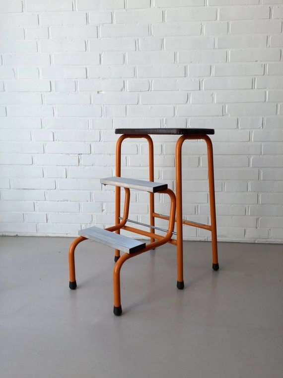 Amazing Beautiful Folding Stool From The 1950S By The Company Bralicious Painted Fabric Chair Ideas Braliciousco