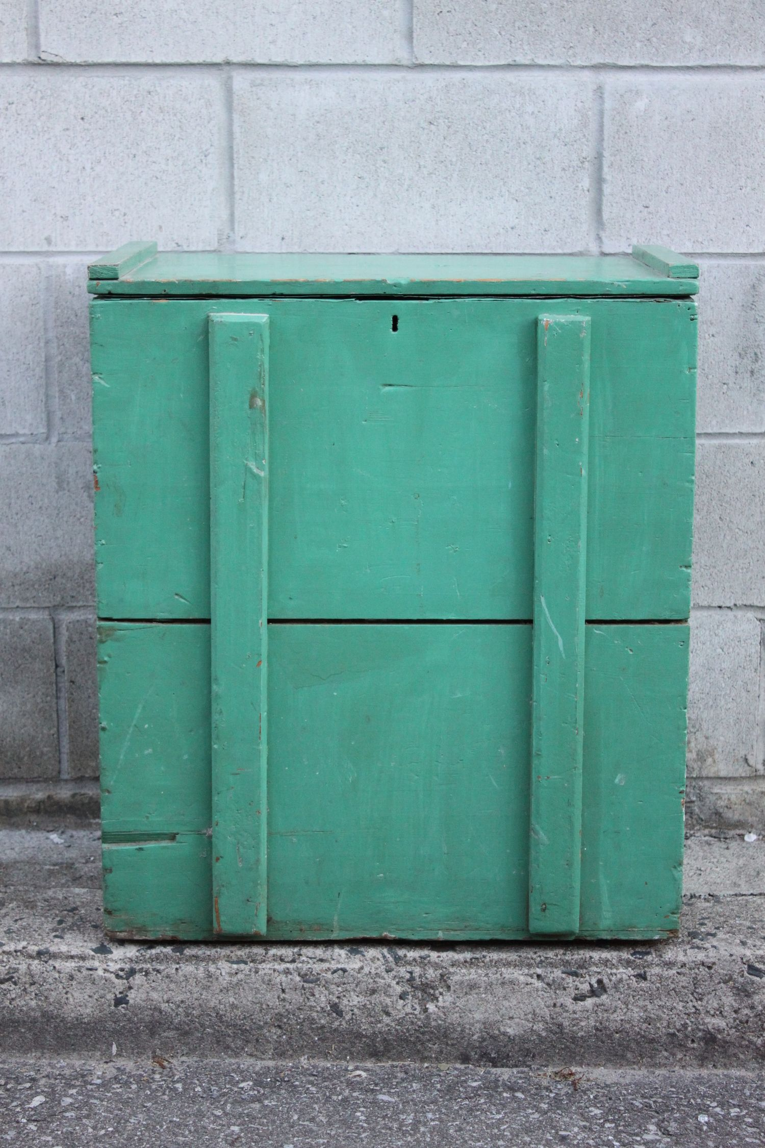Turquoise Trunk — sourceD & sAlvaged