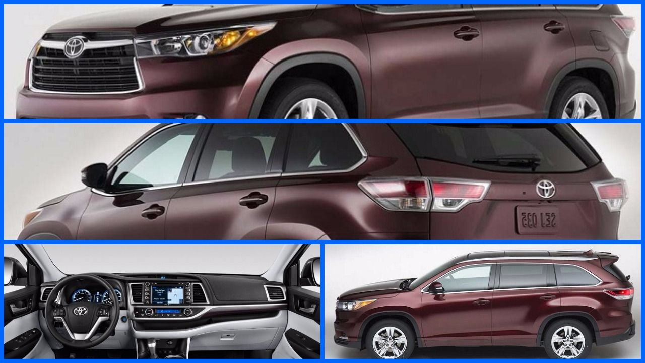 2018 toyota highlander release date and review toyota highlander 2017 is anticipated will cherish the