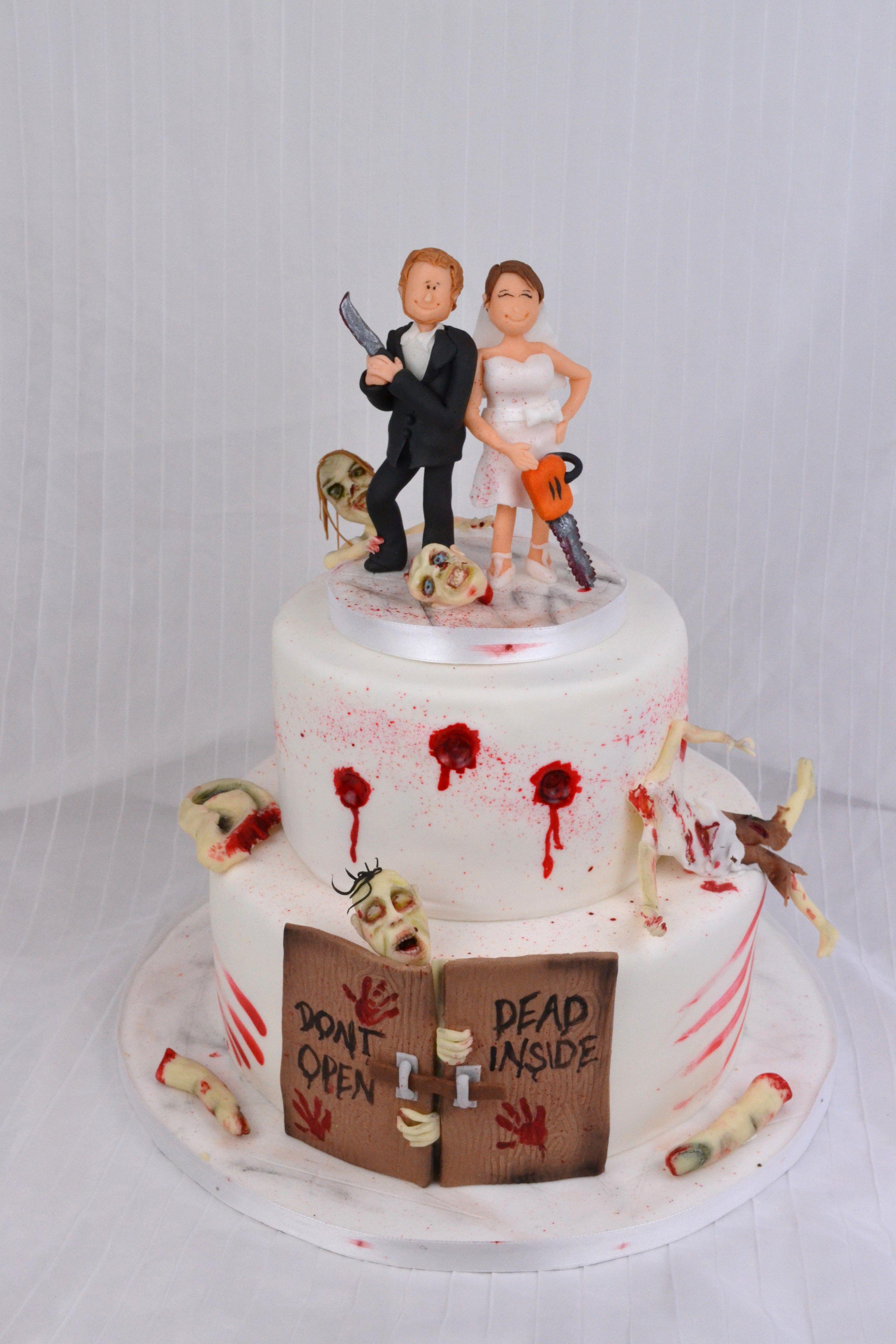 The Walking Dead Wedding Cake Zombie Hochzeitstorte Wedding Cakes