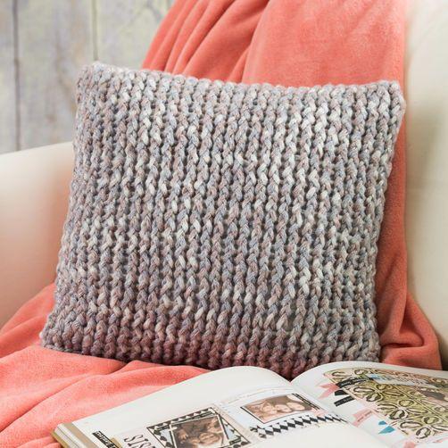 Loom Knit Throw Pillow Round Loom Knitting Loom Knitting Projects Loom Knitting Patterns