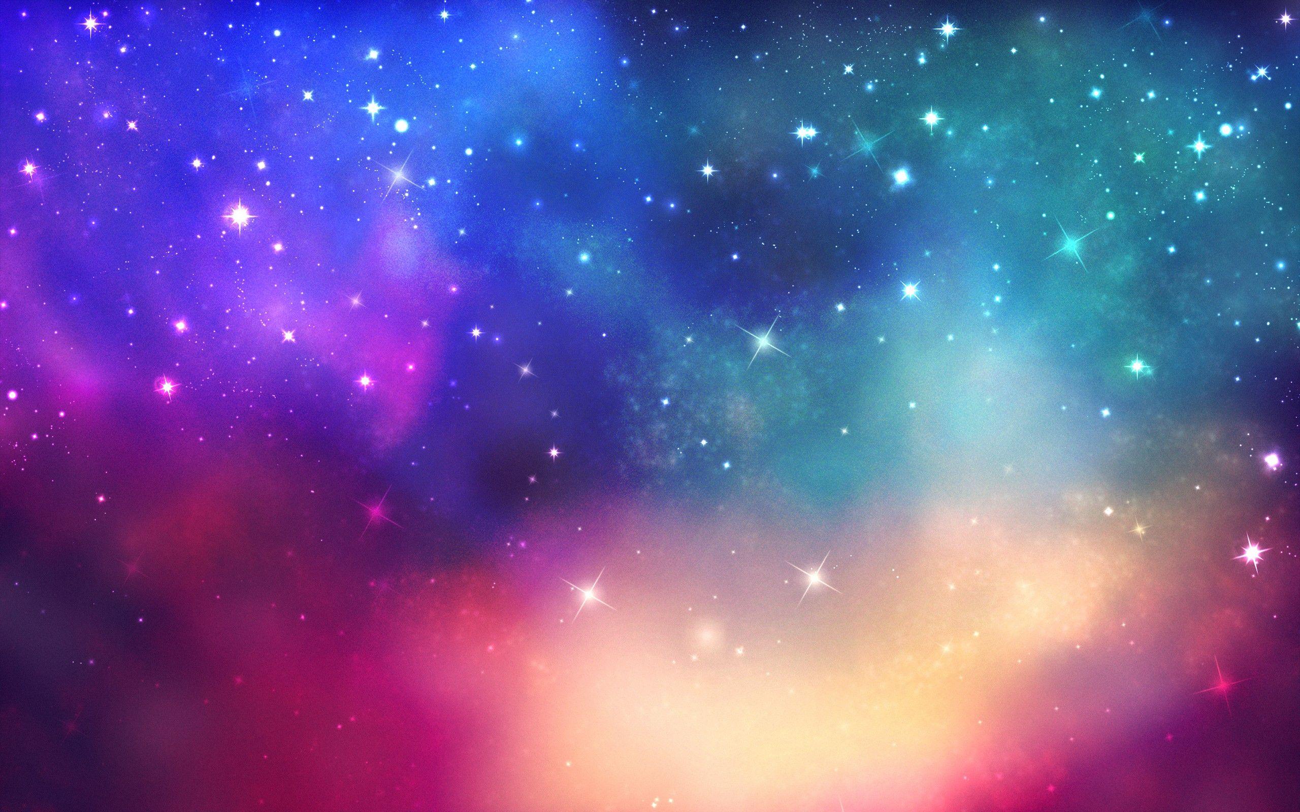 Colorful Galaxy Wallpaper Full HD #o1q | Blue galaxy ...