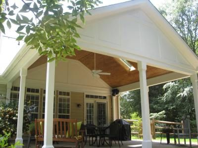 img_0909   porches   pinterest - Covered Patio Ceiling Ideas