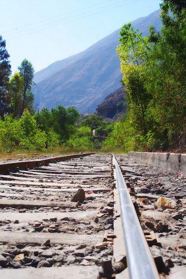Railroad in Junin, Peru