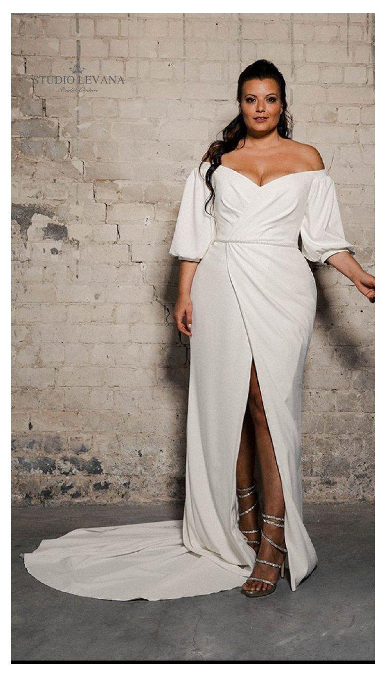 Pin On Wedding Dresses Plus Size [ 1368 x 780 Pixel ]