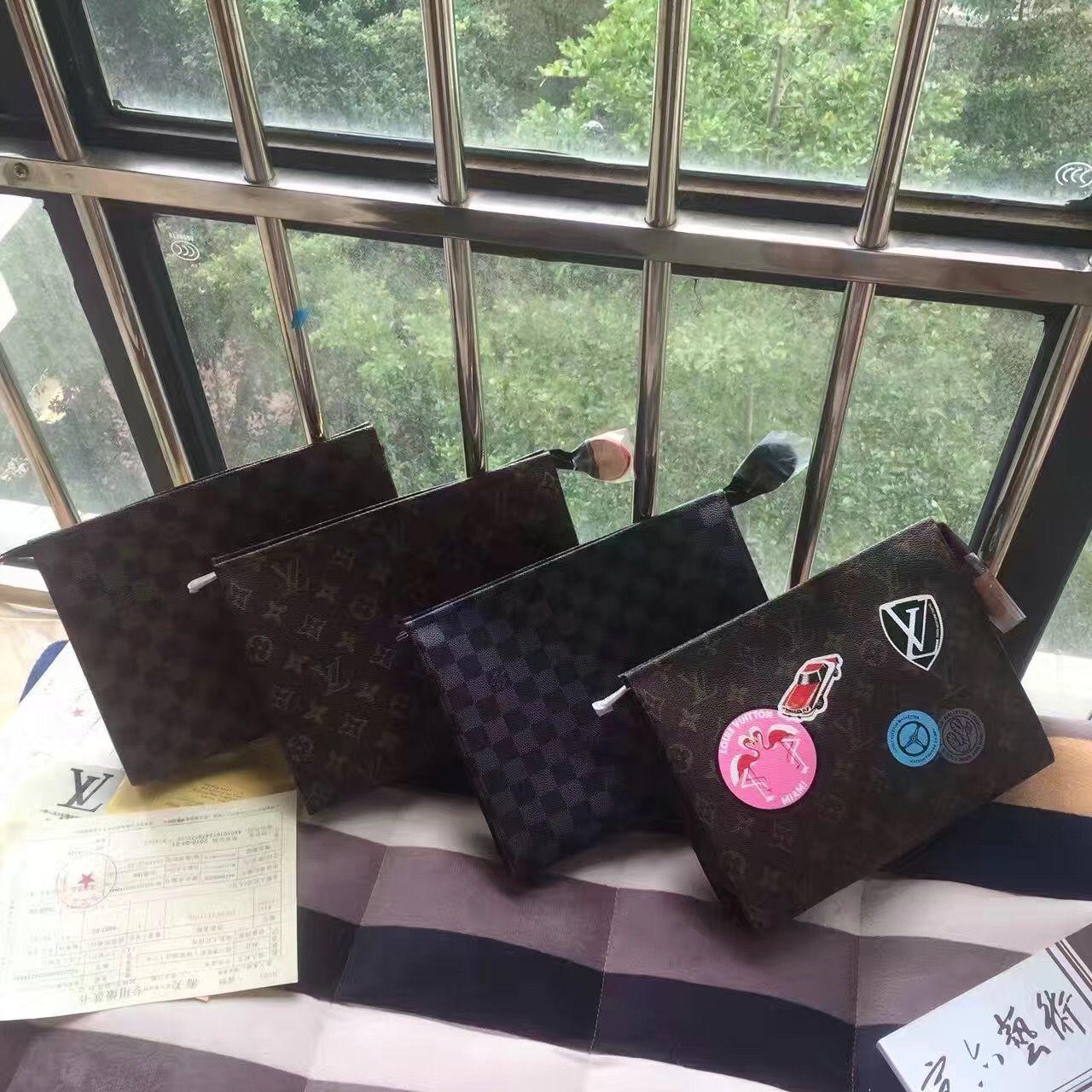Louis Vuitton unisex woman man clutch purse