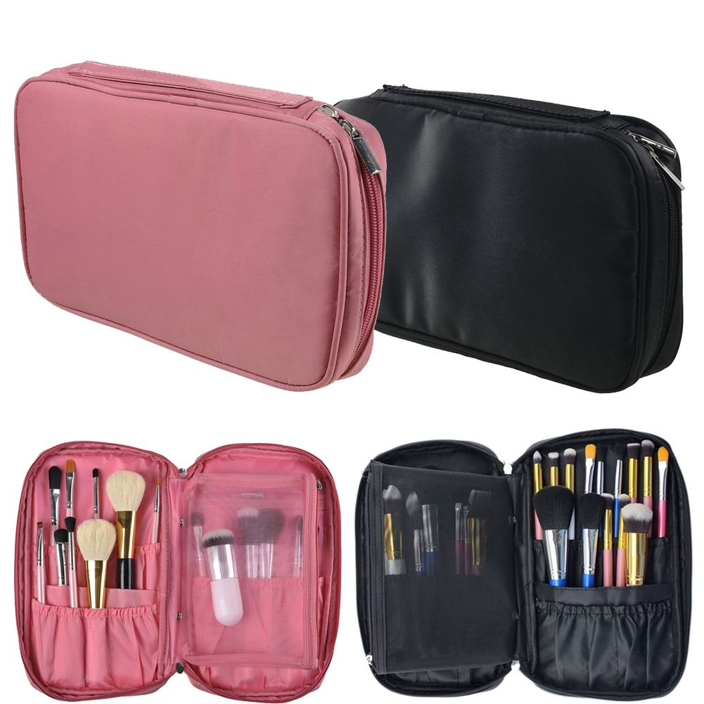 Bag · 2017 Folded Travel Makeup Bags Nylon Waterproof Cosmetic Case  Toiletry Bag Multifunction Zipper Makeup Storage Pouch 8b387a40a3