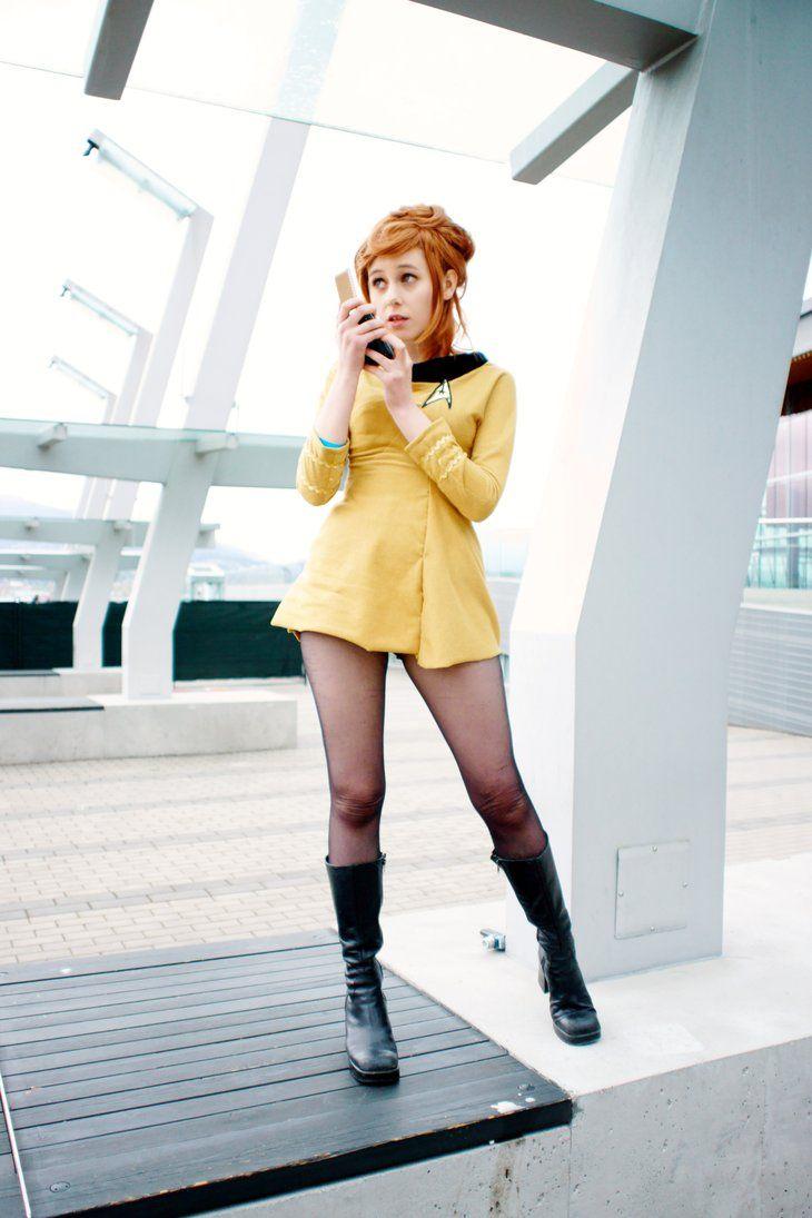 Star trek nude cosplay