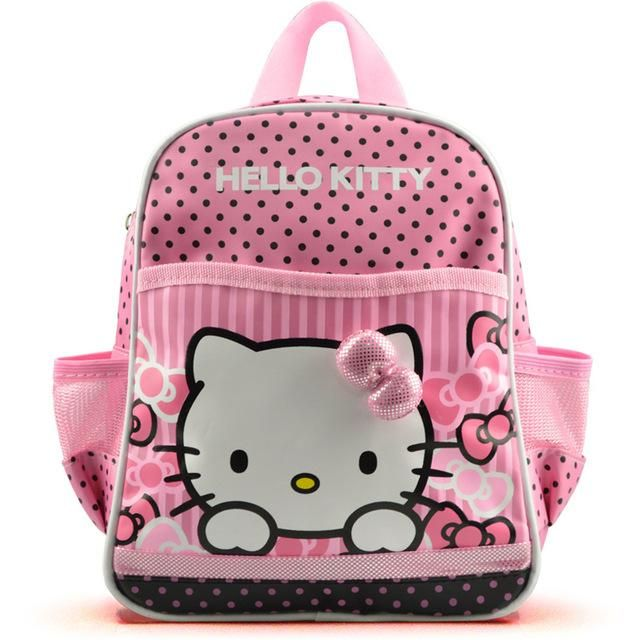 Hello kitty cute backpack to school girls toddler schoolbags cartoon small bag  kindergarten child kids small back pack 2c5f282e567fb