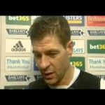 Video: Steven Gerrard And Luis Suarez's Post-Stoke Win Reaction