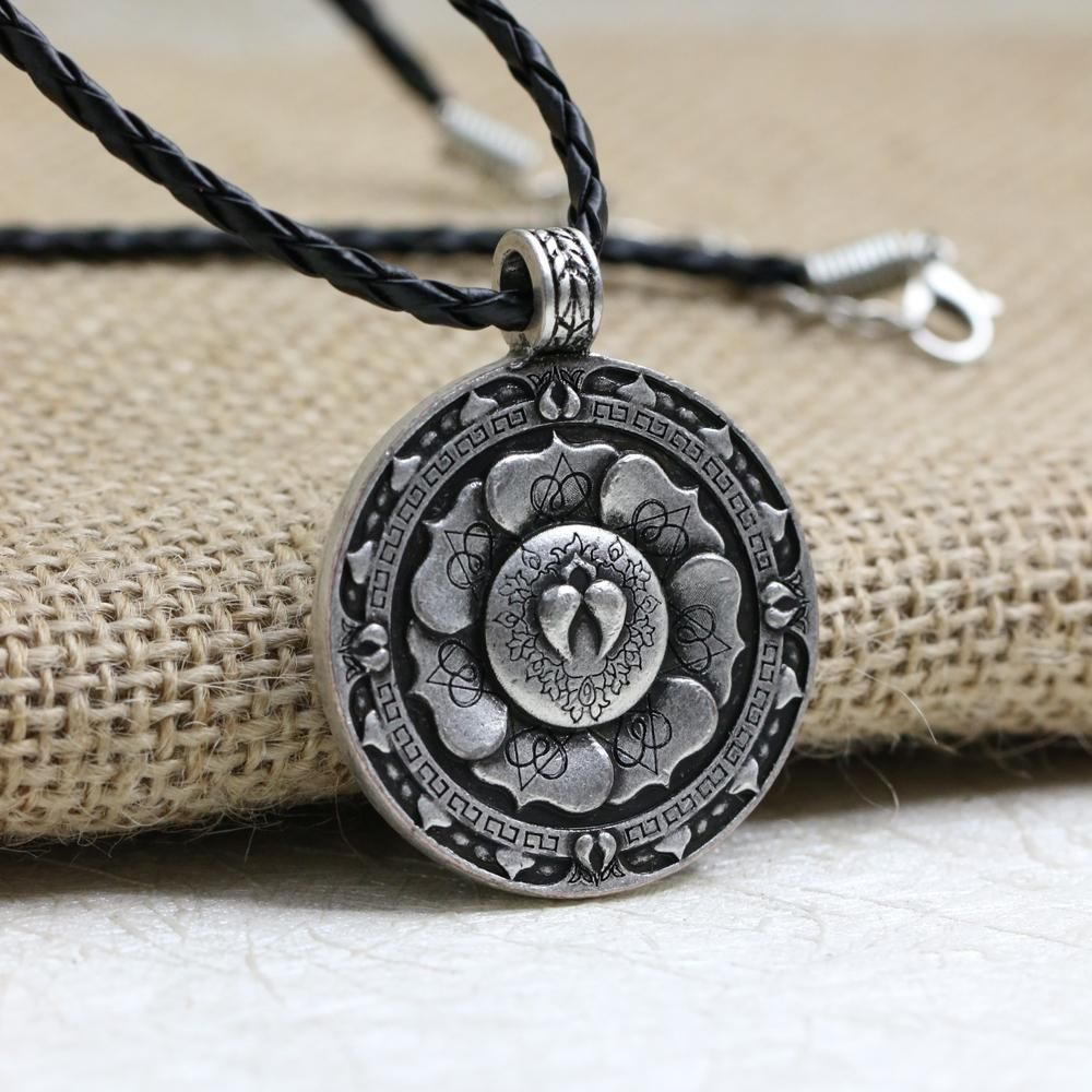 necklace bling medallion zirconia pendant journey jewelry aum my open om cubic clear circle spiritual