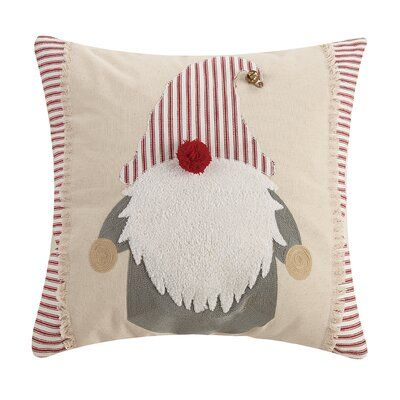Amisha Square Cotton Pillow Cover and Insert