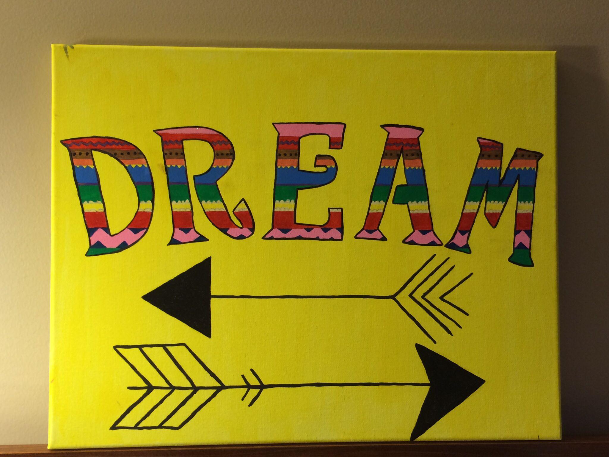 14x18 Canvas: Dream