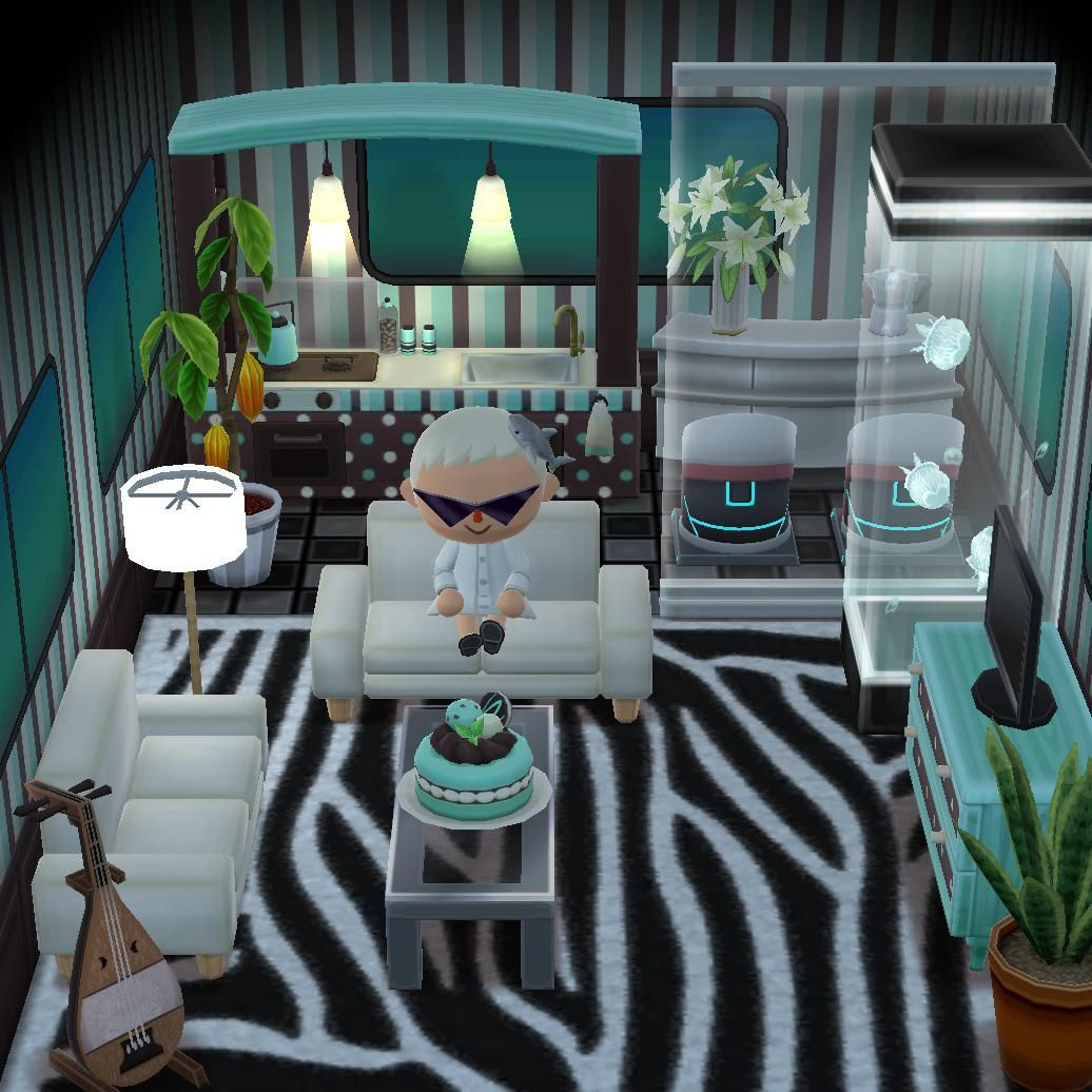 Mid Century Mint Madness Acpocketcamp With Images Animal
