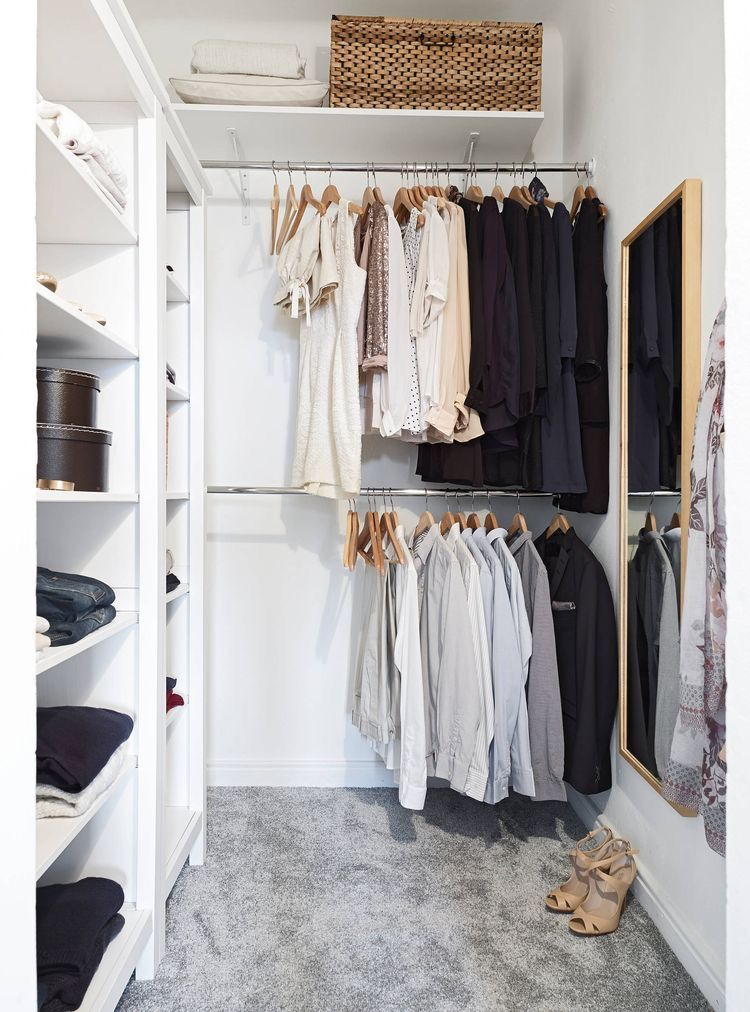 21 Små Walk In Closets För Dig Som Bor Litet