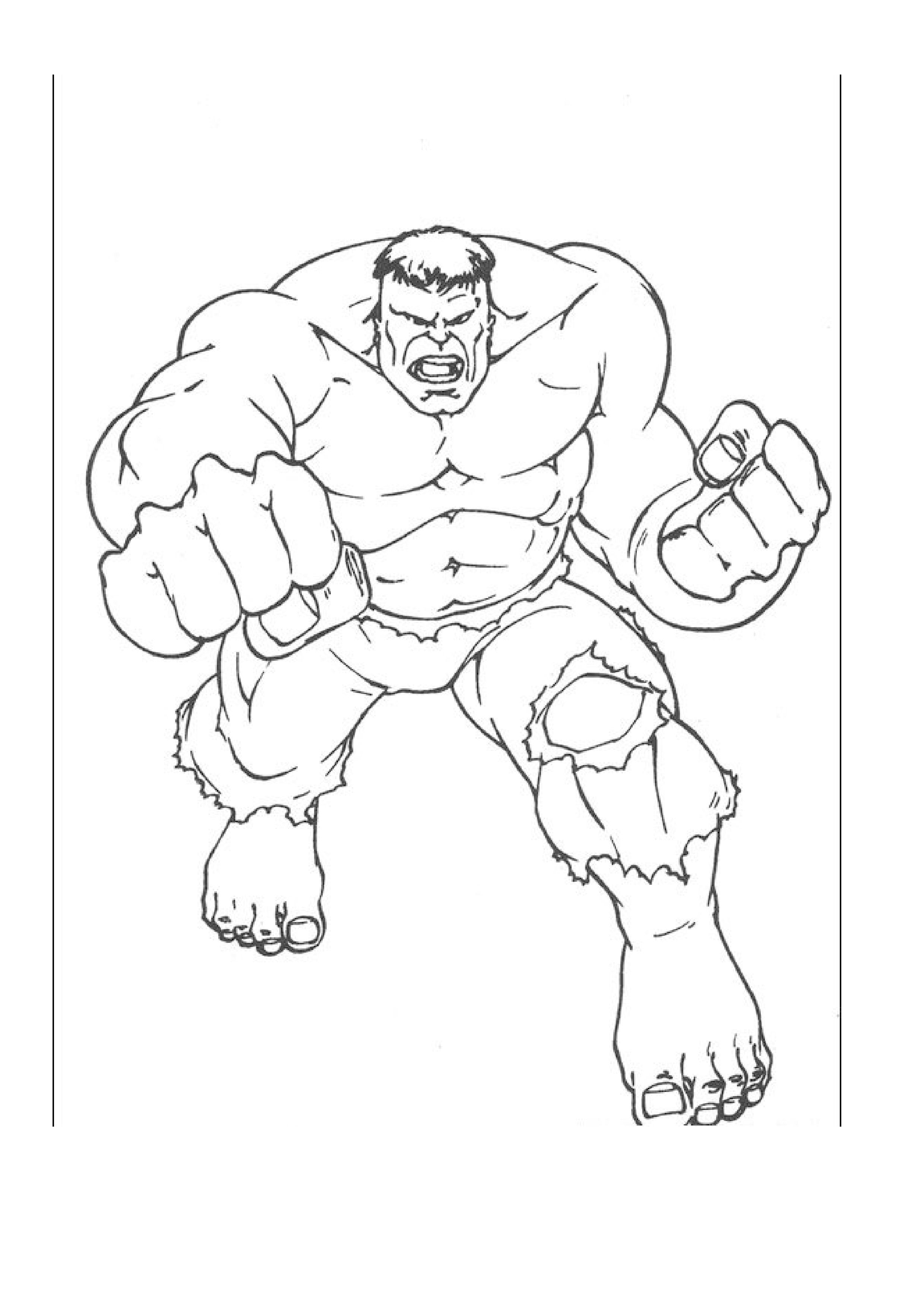 Coloring Pages Hulk And Spiderman