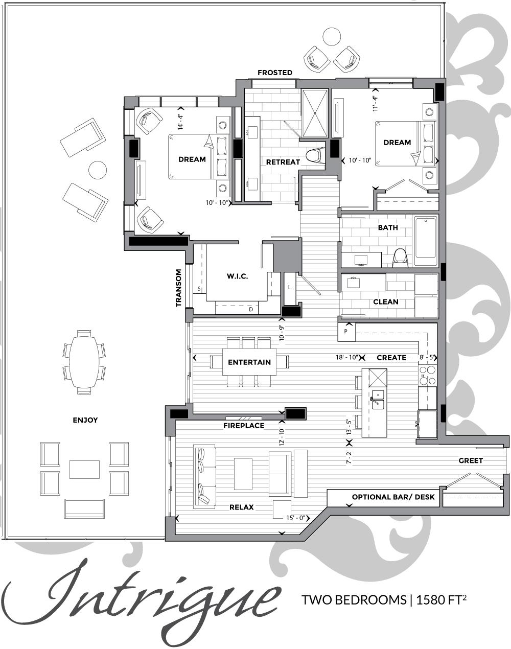 Floor Plans Allure Luxury Condos Penthouse Apartment Floor Plan Condo Floor Plans Apartment Floor Plans