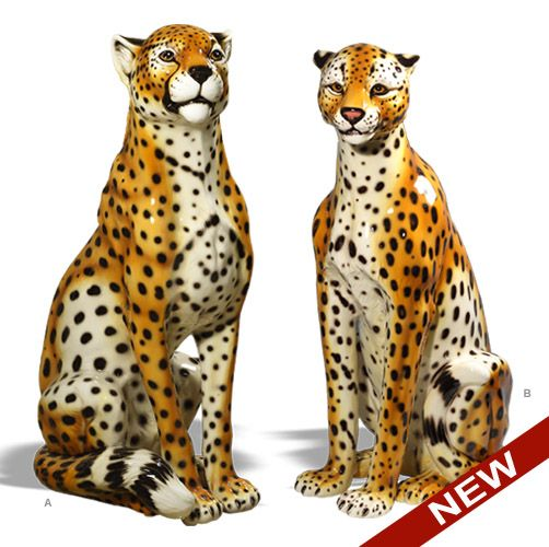 Intrada Italy Cheetah Statue 650 99 Miscellaneous
