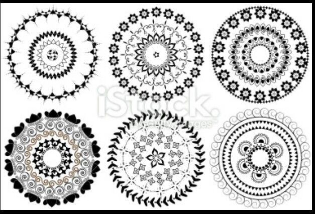Mandalas Circle Tattoo Design Circle Tattoo Circle Tattoos