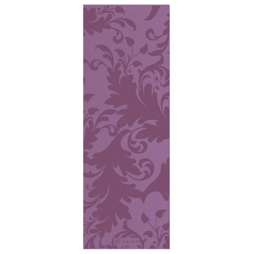 Gaiam Arabesque Floral Yoga Mat