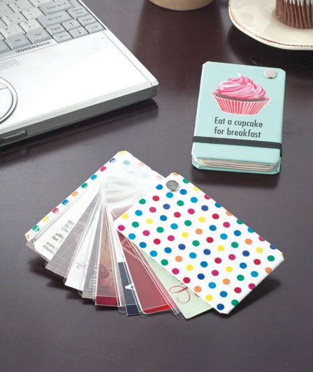 Sets of 2 Card Wheel Storage Wallets