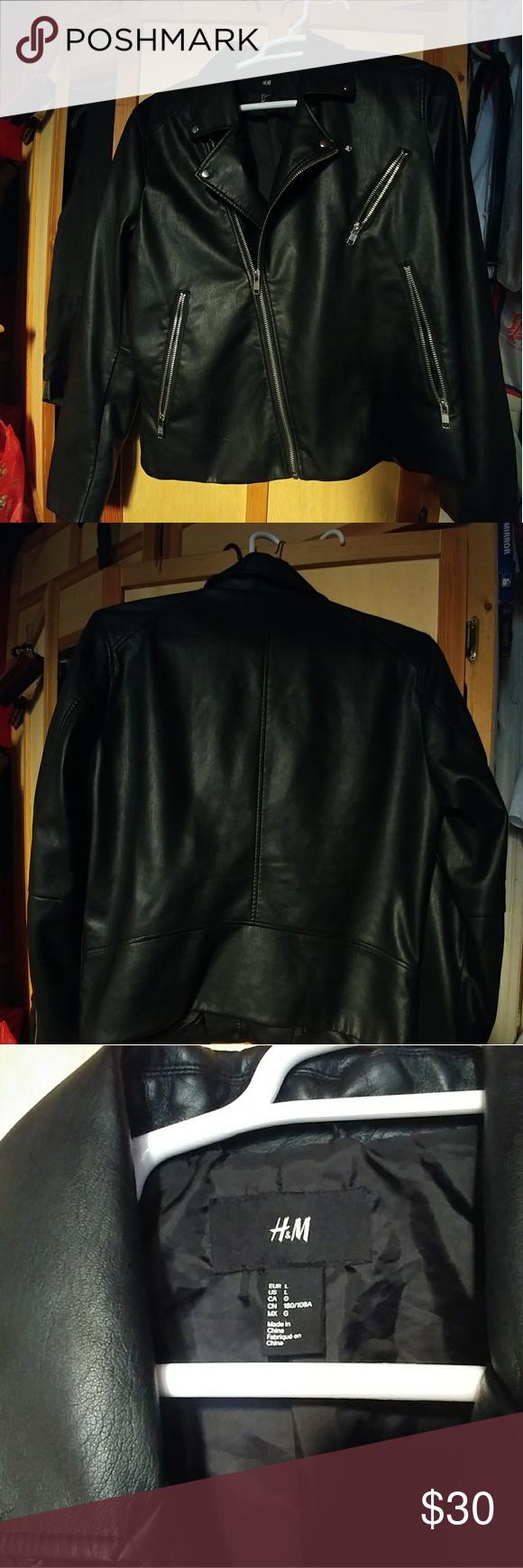 H&M Biker Jacket H&M mens biker jacket. Worn only once
