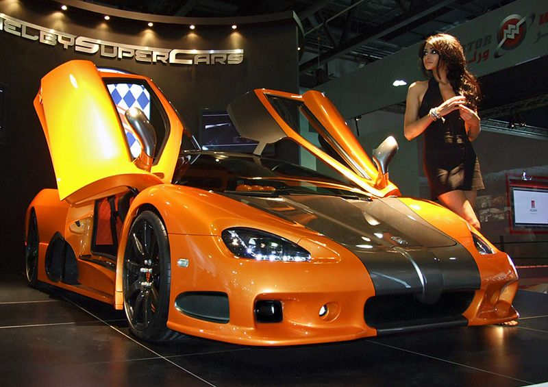 2009 SSC Ultimate Aero TT 1287 HP, 0100 2.5s, top spped