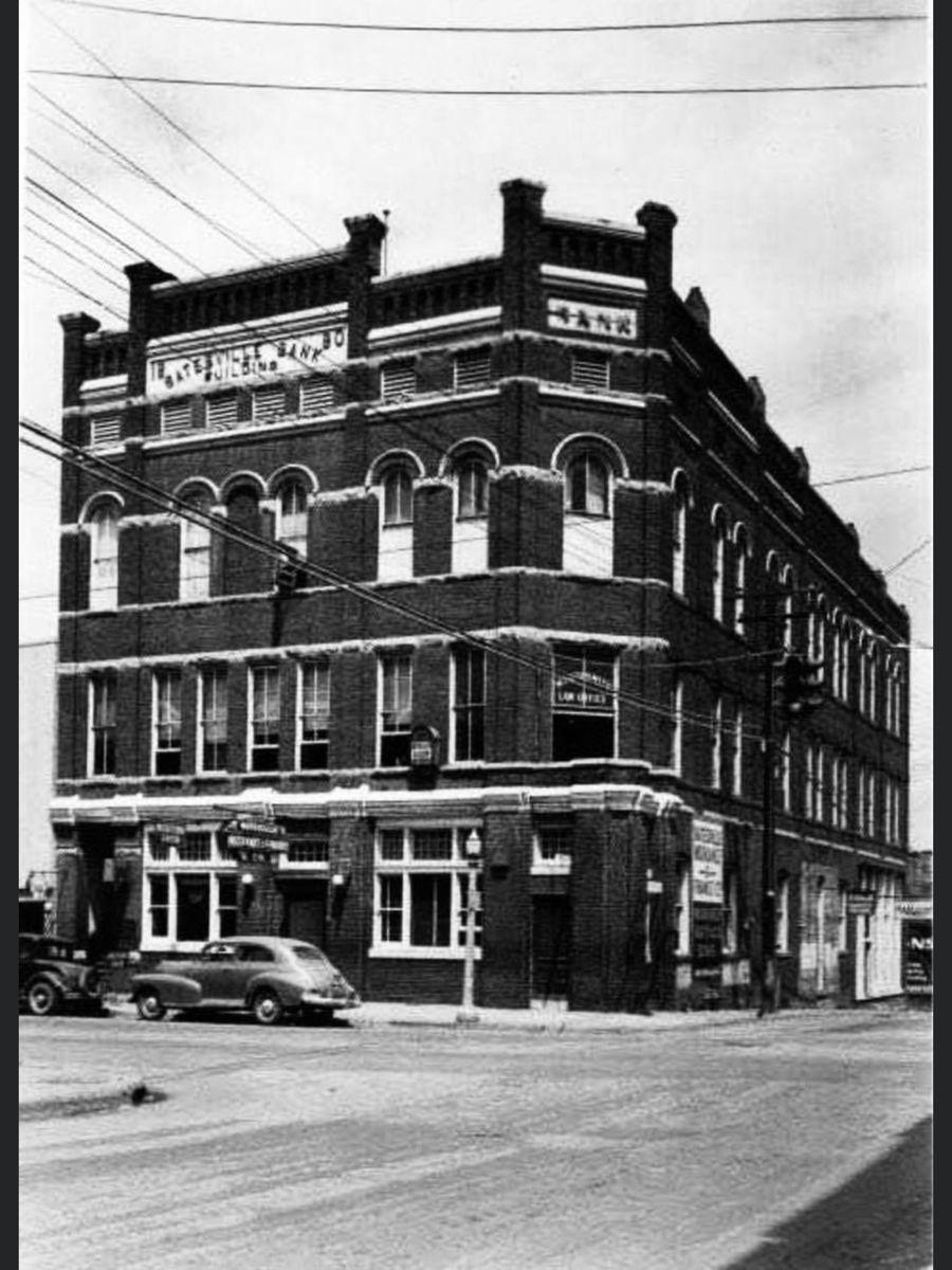 The Batesville Bank Building at Batesville, Arkansas in