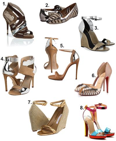 MetallicEmbellishedShoes