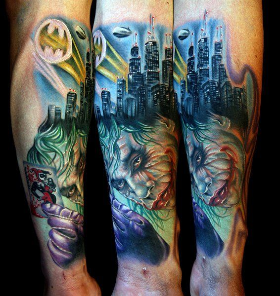 Our Favorite Batman Tattoos From Around The World Sleeve