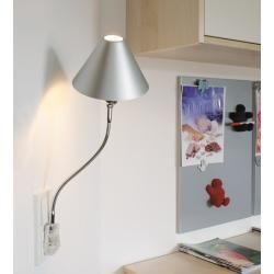 Photo of Top Light plug light Pluglight Flex Shade, 40 cm chrome, plug color white-transparent Flexlight