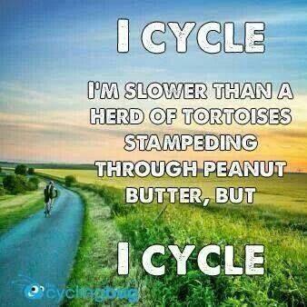 I cycle