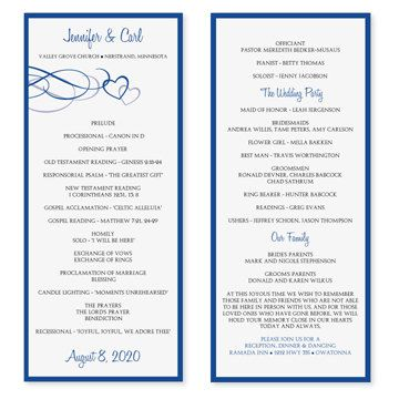 Instantly download and print these designer wedding program ...