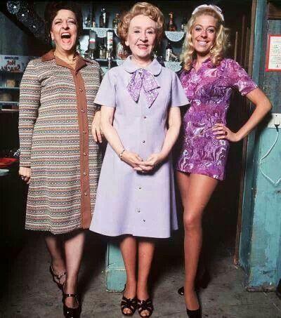 Coronation street - Betty Turpin,Annie Walker  &Bet Lynch