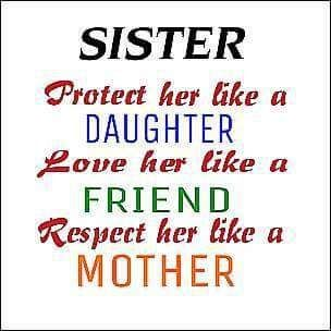Protect Love Respect Our Sister Sister Friend Quotes Sister Quotes Sister Poems