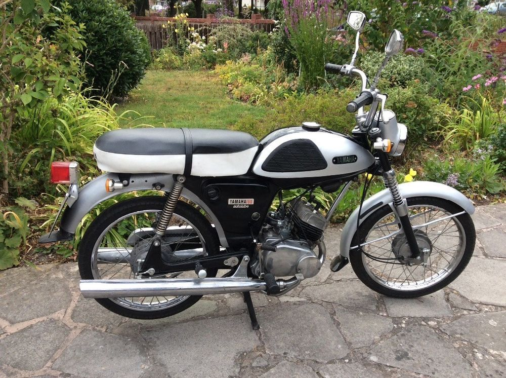 Ebay Yamaha Yl1 1967 100cc Twin Japanese Motorcycle Vintage Motorcycles Vintage Cars