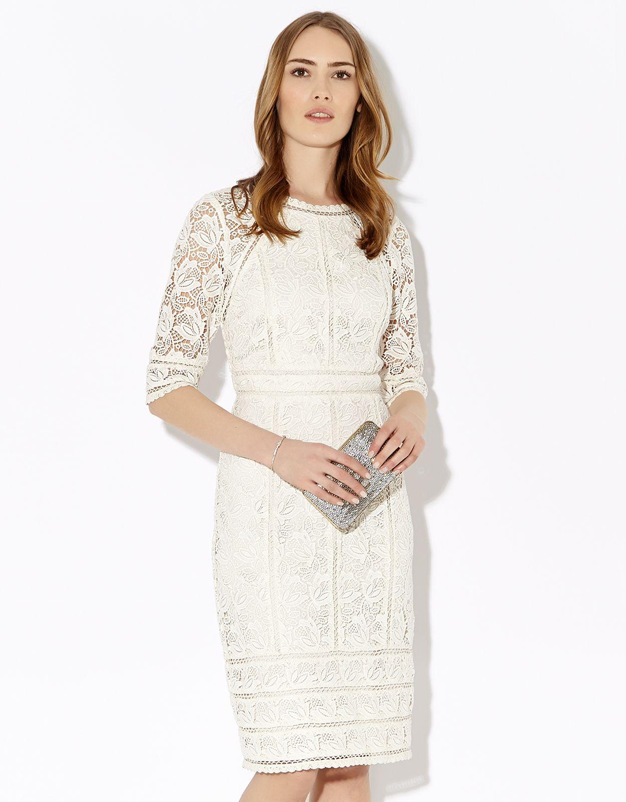 Elvie Dress Ivory Monsoon Replikates Dresses