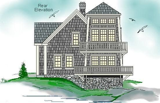 Lighthouse Architectural House Plan Ranch House Plans House Plans Architectural House Plans