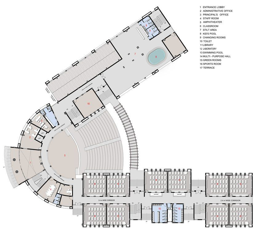 School plan c utare google school school building - College of design construction and planning ...