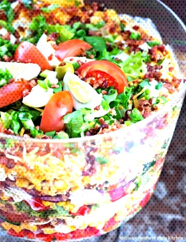 10 7 Layer Salad Recipe That Make Fun And Healthy Lunches, 10 7 Layer Salad Recipe That Make Fun A